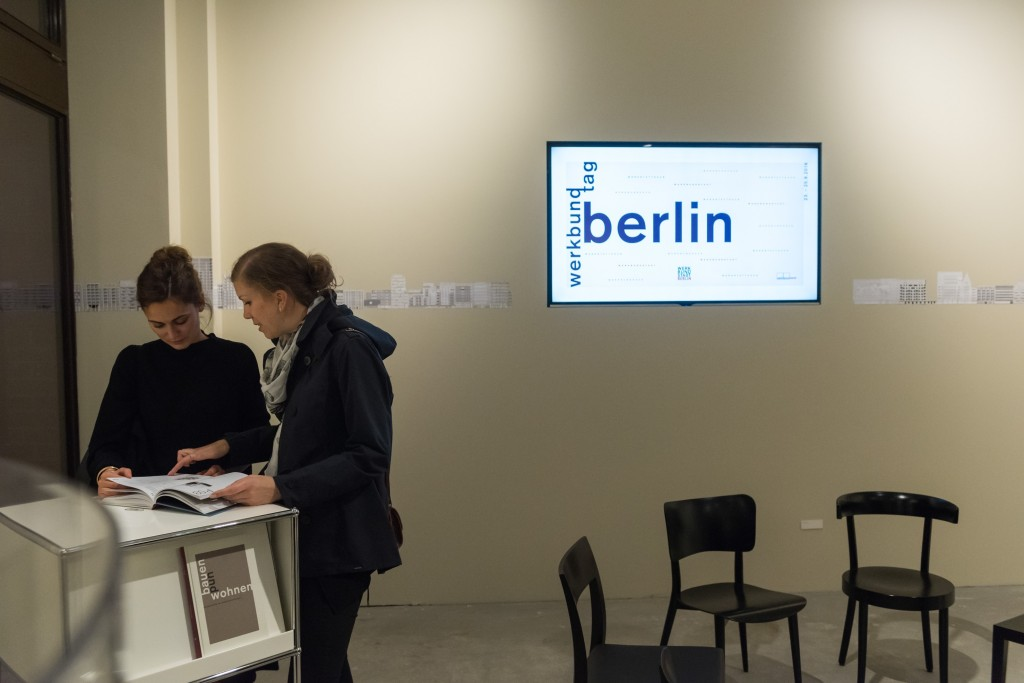 Duitsland, Deutschland, Germany, Berlin, Berlijn, Charlottenburg. Werkbundtag.  Foto: Erik-Jan Ouwerkerk