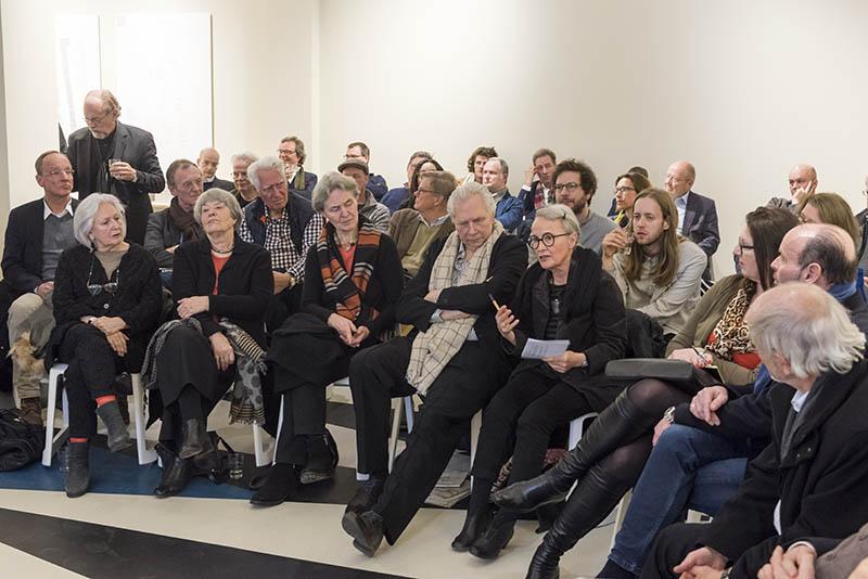 Duitsland, Deutschland, Germany, Berlin, Berlijn, 3.3.2017. Quedlinburger Strasse. Werkbundforum zum Thema WerkbundStadt. Foto: Erik-Jan Ouwerkerk